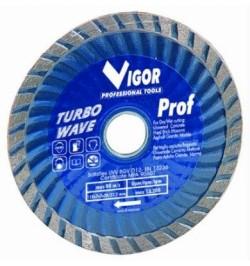 Dischio diamantato turbo wave Ø 115 mm Vigor