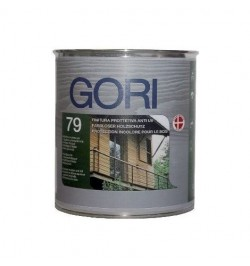 GORI 79 INCOLORE - Finitura Anti-UV all'acqua
