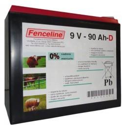BATTERIA FENCELINE 9V 90AH