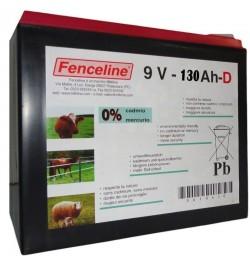 BATTERIA FENCELINE 9V 130AH
