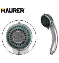 """Doccia doccetta con impugnatura ergonomica """"Julia"""" 4 funzioni docce Maurer 91532"""